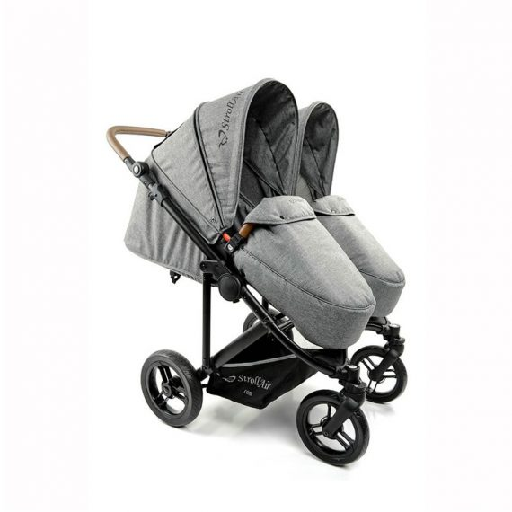 StrollAir_TWIN_WAY_twin_stroller_seats_with_footcovers