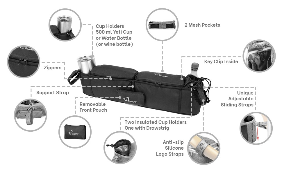 double organizer infographic stroller full size